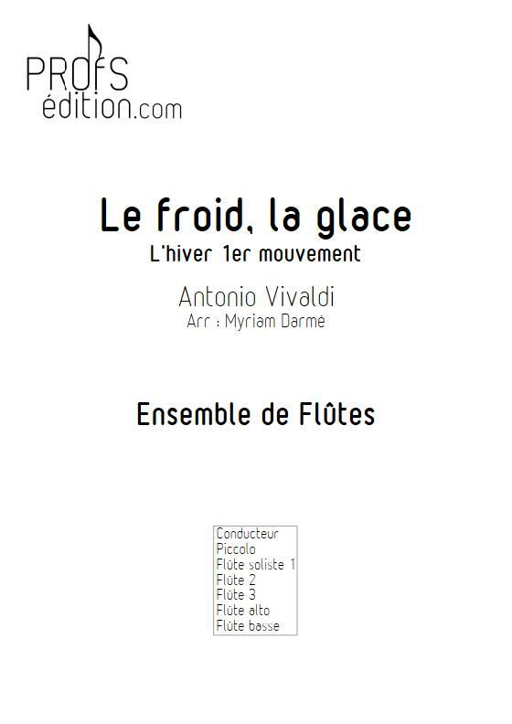 Froid et glace - Ensemble de Flûtes - VIVALDI A. - front page