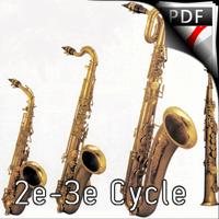 Fugue BWV 578 - Quatuor de Saxophones - BACH J. S.