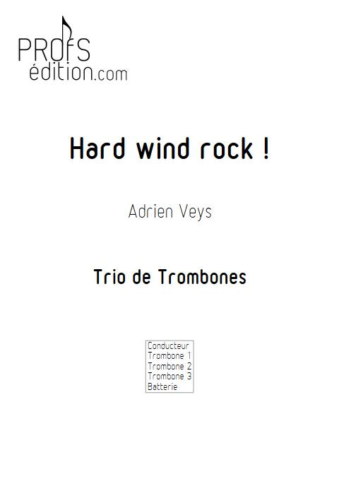 Hard wind rock ! - Trio de Trombones - VEYS A. - front page