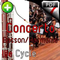 Concerto pour Basson - Orchestre Harmonie - WEBER C. M. V.