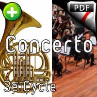 Concerto Konzertstuck - 4 Cors & Harmonie - SCHUMANN R.