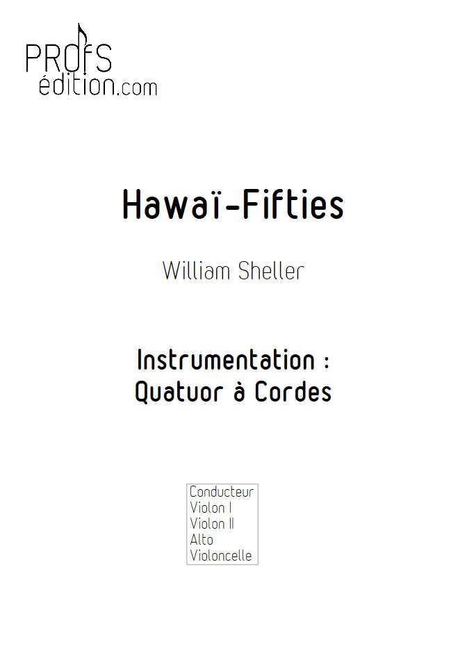 Hawaï Fifties - Quatuor à Cordes - SHELLER W. - front page