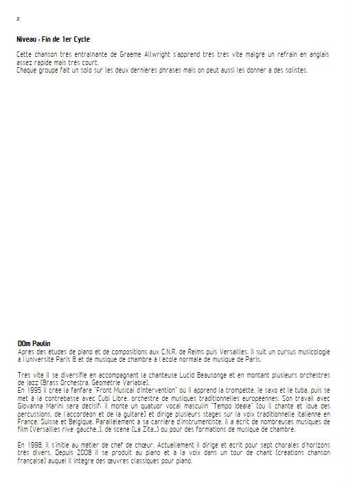 Henrik - Chœur 3 voix mixtes - ALLWRIGHT G. - Educationnal sheet