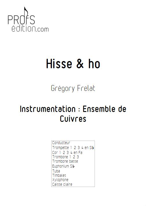 Hisse & Ho - Ensemble de Cuivres - FRELAT G. - front page