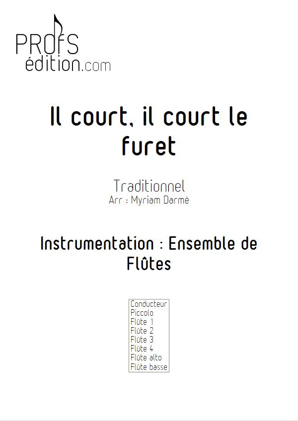Il court le furet - Ensemble de Flûtes - TRADITIONNEL - front page