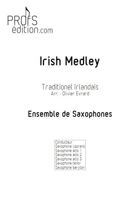 Irish Medley - Ensemble de Saxophones - TRADTIONNEL IRLANDAIS - front page