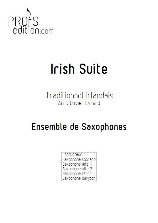 Irish suite ensemble - Ensemble de Saxophones - TRADITIONNEL IRLANDAIS - front page