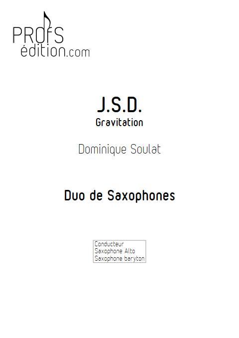 JSD - Duo de Saxophones - SOULAT D. - front page