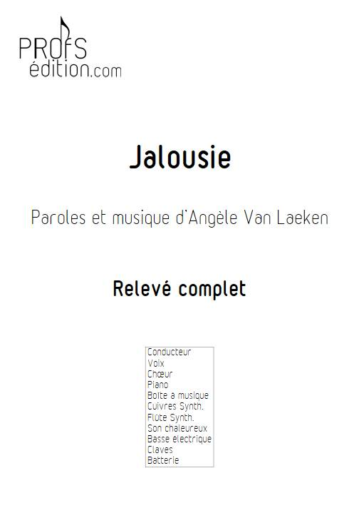 Jalousie - Relevé - ANGELE - front page