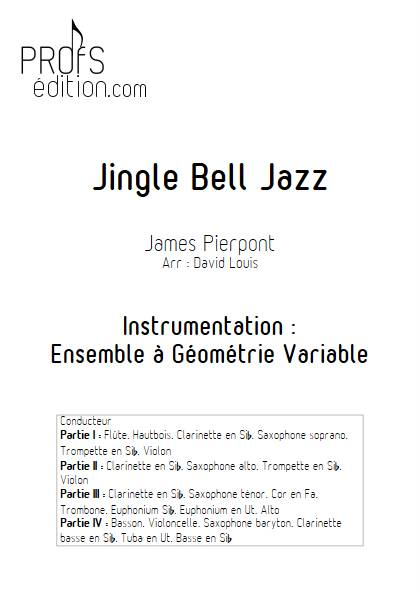 Jingle Bell Jazz - Ensemble Variable - PIERPONT J. - front page