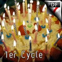Joyeux Anniversaire (Happy Birthday) - Ensemble Variable - HILL P.S. & M.