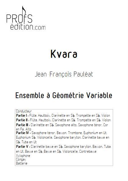 Kvara - Ensemble Variable - PAULEAT J. F. - front page
