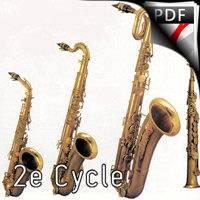 Le Fossoyeur - Quatuor de Saxophones - BRASSENS G.