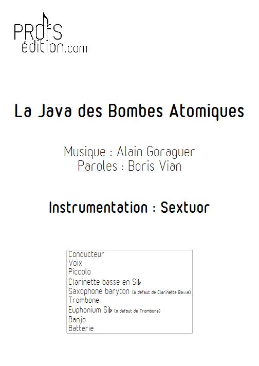 La Java des bombes Atomiques - Relevé Complet - VIAN B. - front page