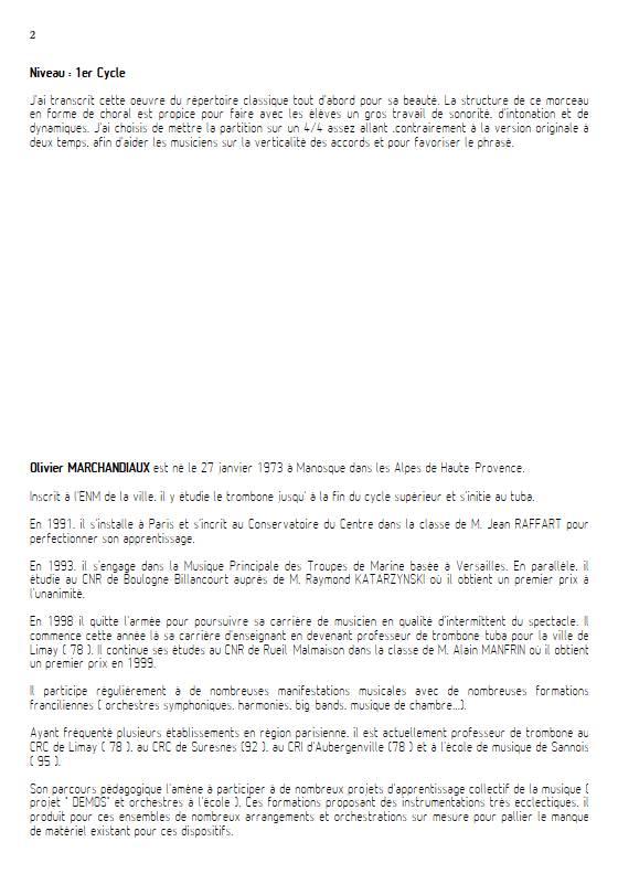 La mort d'Ase - Esemble Variable - GRIEG E. - Educationnal sheet