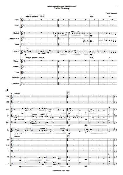 Latin Fantasy - Ensemble Symphonique - MASQUELIER F. - app.scorescoreTitle