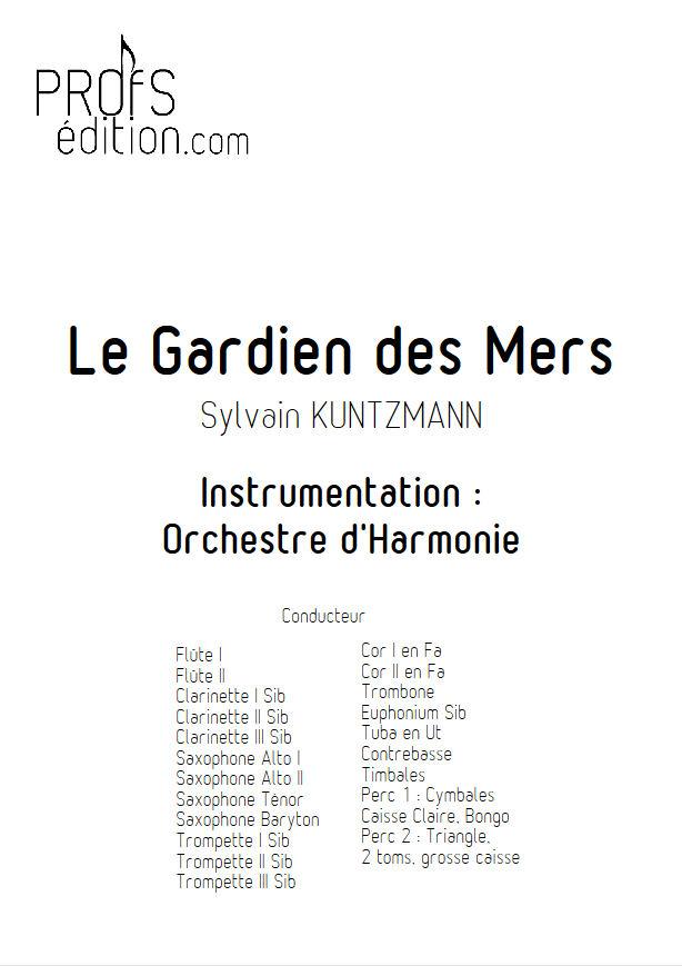 Le Gardien des Mers - Orchestre Harmonie - KUNTZMANN S. - front page