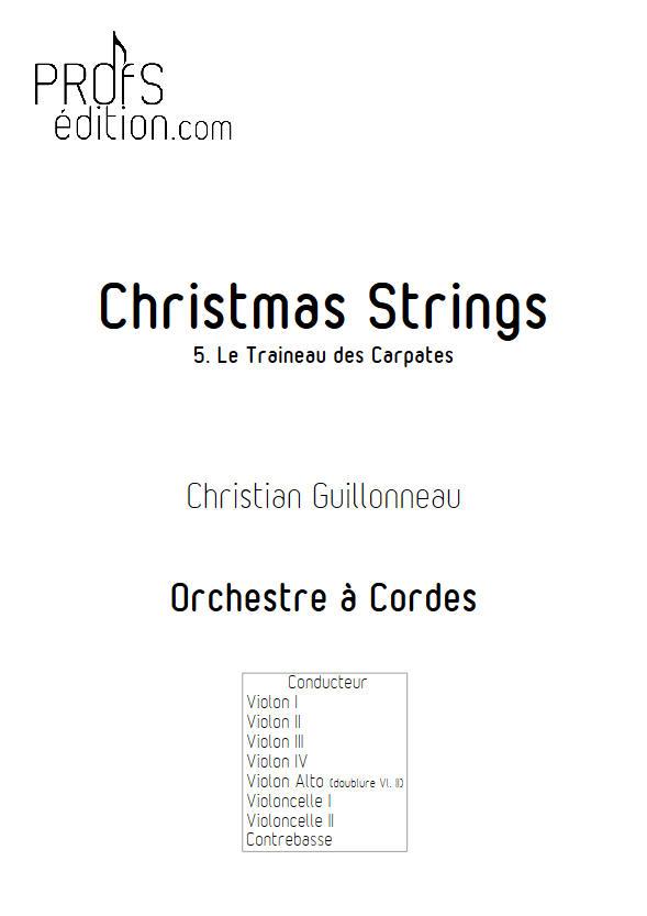 Le Traineau des Carpates - Orchestre Cordes - GUILLONNEAU C. - front page