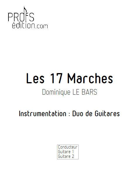 Les 17 Marches - Duos Guitare - LE BARS D. - front page