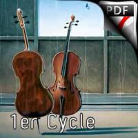 Les duos de Laura - Duo de Violoncelles - PAULEAT J.F.