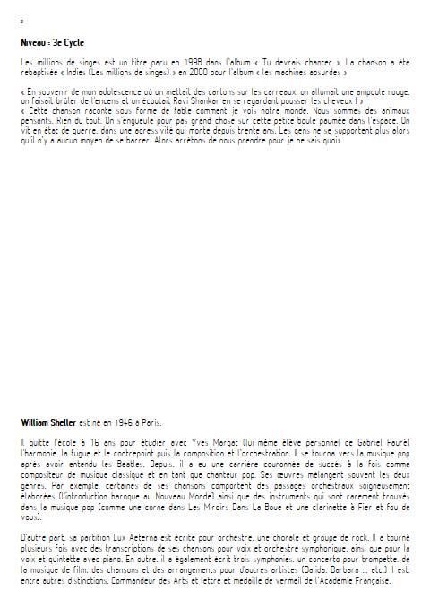 Indies, Les millions de singes - Musique actuelle et Orchestre à Cordes - SHELLER W. - Educationnal sheet