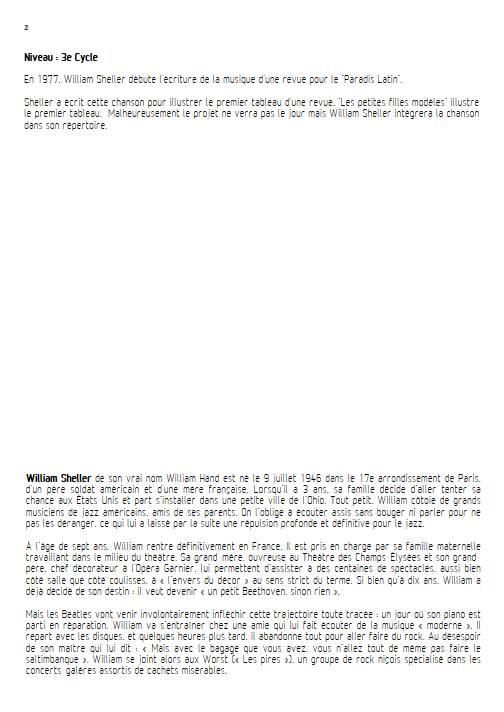 Les Petites Filles modèles - Chant et Quintette à Cordes - SHELLER W. - Educationnal sheet