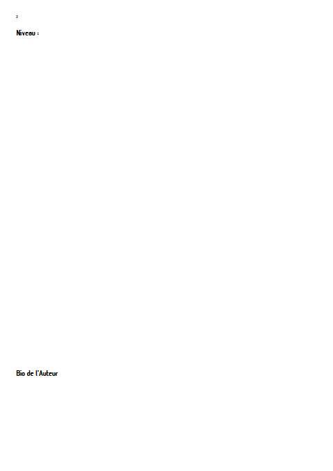 Mélodie confinée - Orchestre d'harmonie - LEMAIRE P. - Educationnal sheet