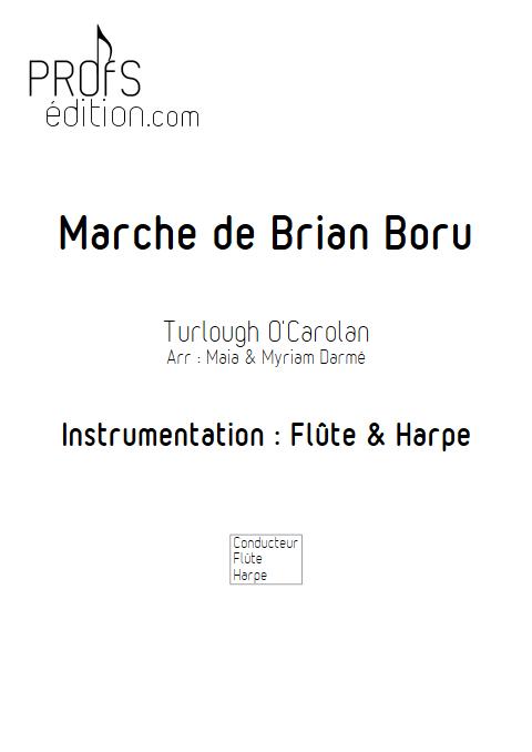 Marche de Brian Boru - Flûte & Harpe - TRADITIONNEL IRLANDAIS - front page