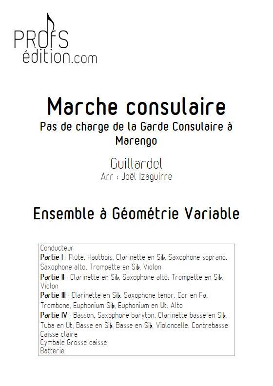Marche consulaire- Ensemble Variable - GUILLARDEL - front page