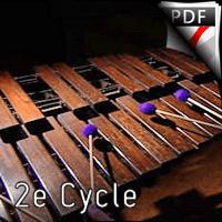 Memori - Marimba et Orchestre d'Harmonie - FRELAT G.