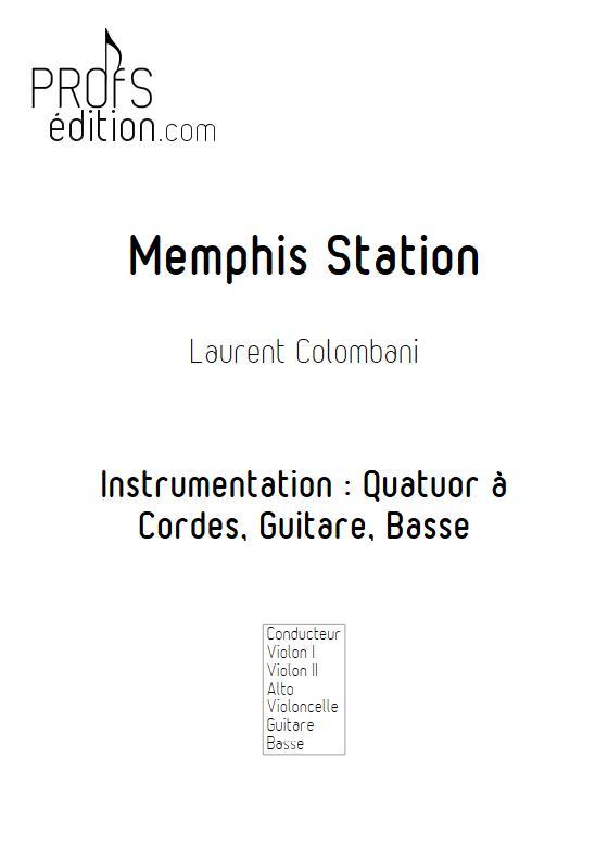 Memphis Station - Sextuor à Cordes - COLOMBANI L. - front page