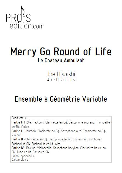 Merry go round of life (Le chateau ambulant) - Ensemble Variable - HISAISHI J. - front page