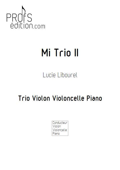 Mi Trio II - Trio cordes - LIBOUREL L. - front page
