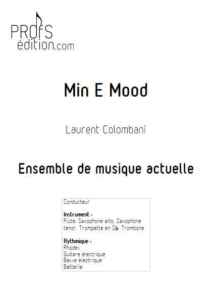 Min E Mood - Ensemble de musique actuelle - COLOMBANI L. - front page