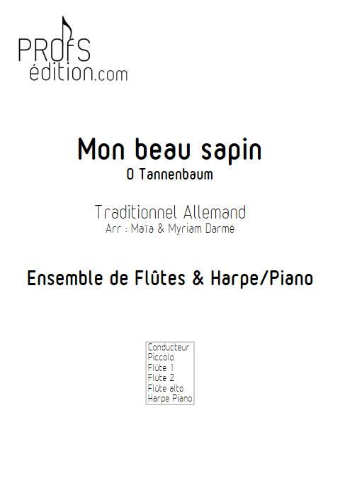 Mon beau Sapin - Ensemble de Flûtes - TRADITIONNEL ALLEMAND - front page