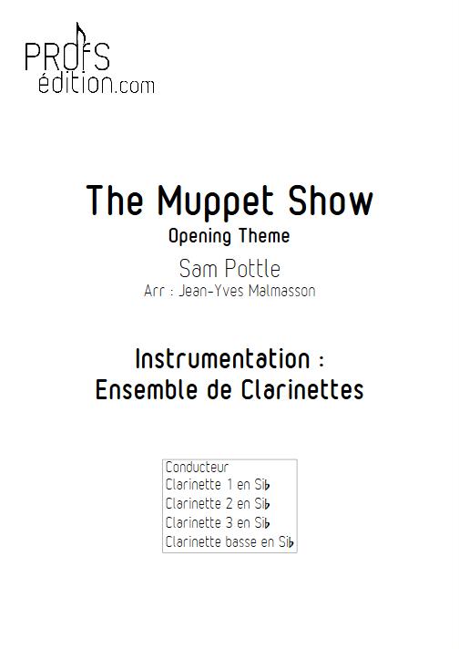Muppet Show - Ensemble de Clarinettes - HENSON J. - front page