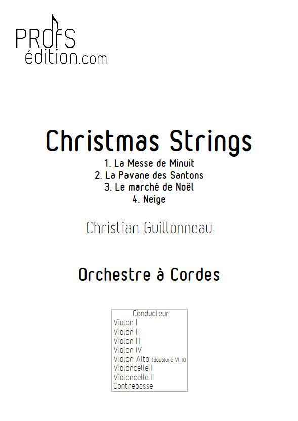 Neige - Orchestre Cordes - GUILLONNEAU C. - front page