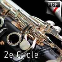 Noël Pyrénéen - Quatuor de Clarinettes - BONNAL E.