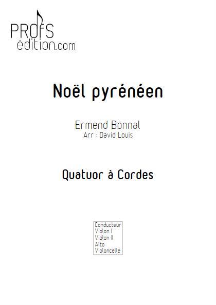 Noël Pyrénéen - Quatuor à Cordes - BONNAL E. - front page