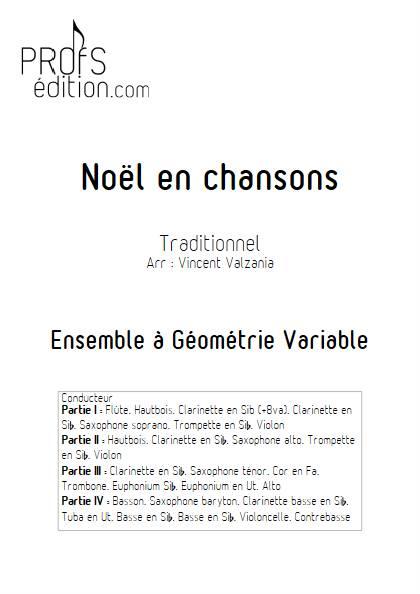 Noël en chansons - Ensemble Variable - TRADITIONNEL FRANCAIS - front page