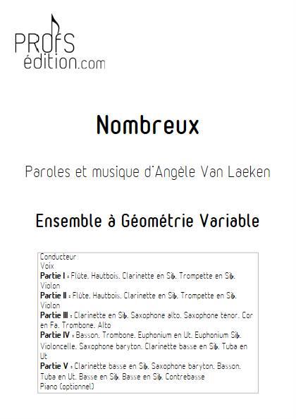Nombreux - Ensemble Variable - ANGELE - front page