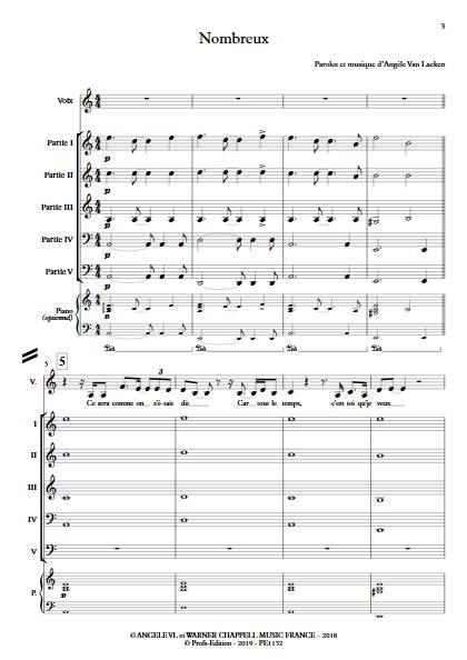 Nombreux - Ensemble Variable - ANGELE - app.scorescoreTitle