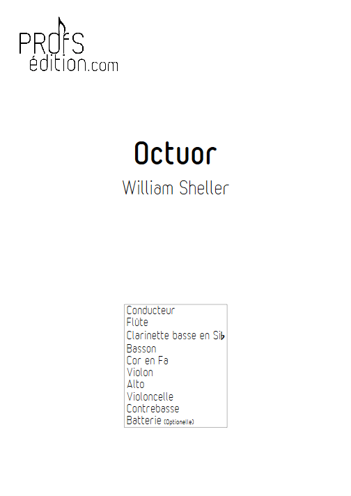 Octuor - SHELLER W. - front page