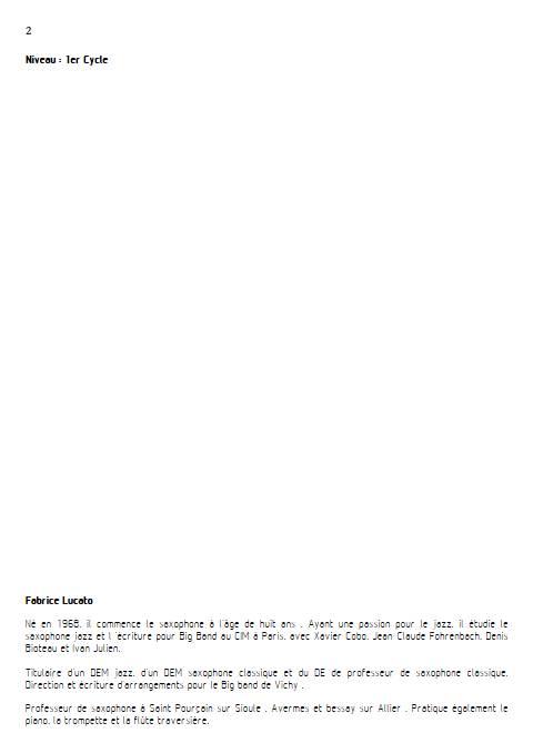 On écrit sur les murs - Trio de Clarinettes - MUSUMARRA R. - Educationnal sheet