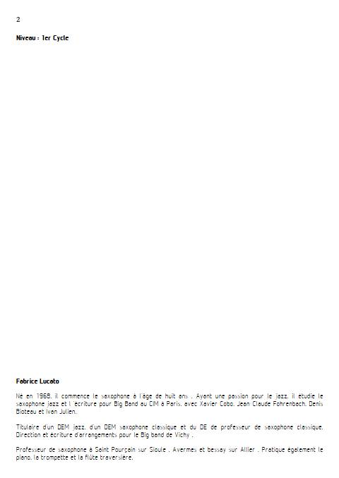 On écrit sur les murs - Trio de Saxophones - MUSUMARRA R. - Educationnal sheet