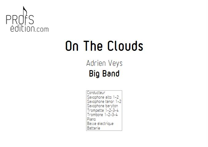 On the clouds - Big Band - VEYS A. - front page