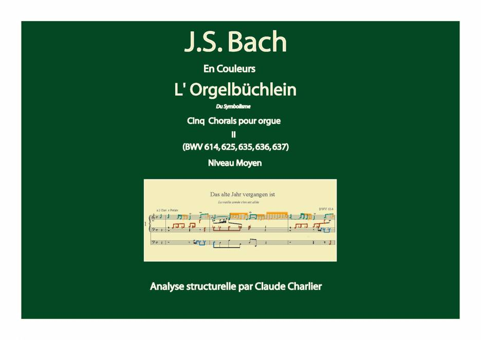 Orgelbüchlein II - Analyse Musicale - CHARLIER C. - front page