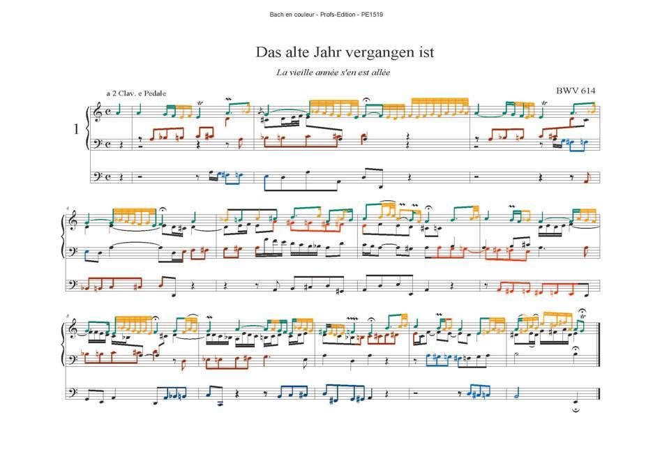 Orgelbüchlein II - Analyse Musicale - CHARLIER C. - app.scorescoreTitle