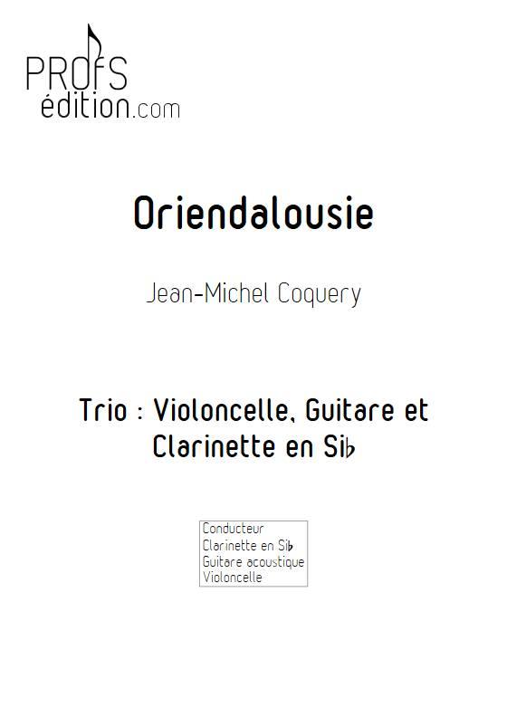 Oriendalousie - Trio - COQUERY J. M. - front page