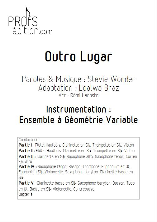 Outro lugar - Ensemble Variable - WONDER S. - front page